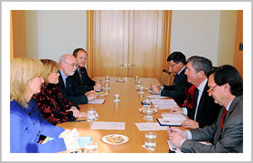 Bilateral meeting with Chile's Under Secretary of Foreign Affairs, Fernando Schmidt