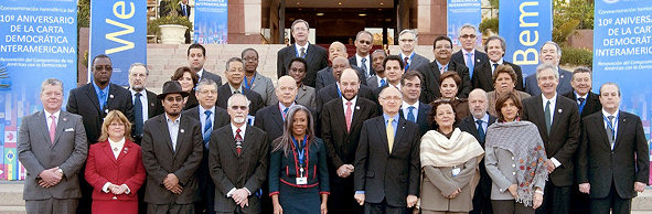 All Ministers that attended the OAS Conference