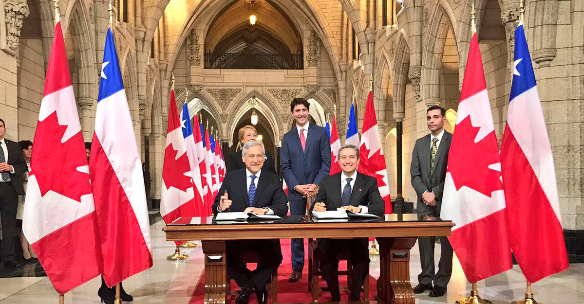 Canada Chile Free Trade Agreement A Great Deal To Celebrate
