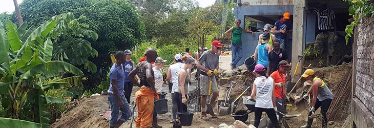 Rebâtir une communauté à Trinité-et-Tobago
