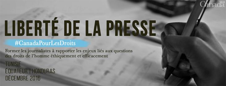 Reportages sur les droits de la personne – Formation pour les journalistes Tunisie et Maroc