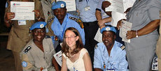 Training UN Police Officers in the Democratic Republic of Congo