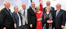 Canada honours pioneers of the sciences in Israel