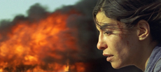 Lubna Azabal as Nawal Marwan in Incendies. Photo by micro-scope, Courtesy of Sony Pictures Classics