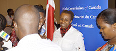 CEFM Champion Valerie Msoka at the launch event.