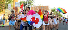 "The Embassy of Canada joined the Capital Pride Parade in Washington, D.C – ""Make Magic Happen"""