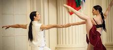 Les danseurs de ballet du RWB