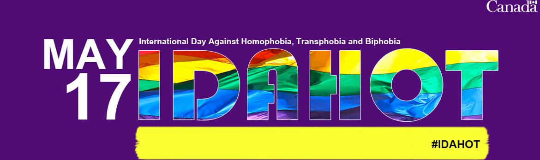International Day Against Homophobia, Transphobia & Biphobia (IDAHOT)