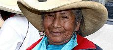 Un habitant de Quiruvilca.