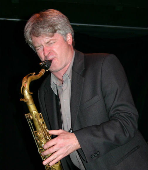 Mike Murley in concert at Jazzhouse Montmartre