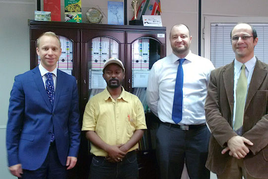 Canadian Embassy in Addis Ababa hosted trade delegations