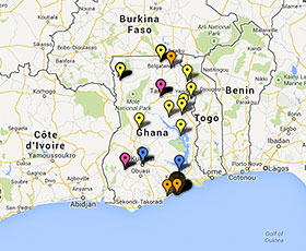 International development projects in Ghana
