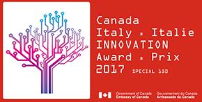 Canada-Italy Innovation award 2017 logo