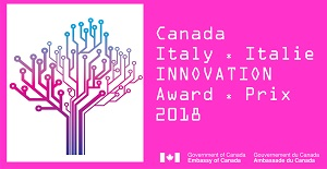 Canada-Italy Innovation award 2018 logo