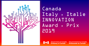 Canada-Italy Innovation Award logo