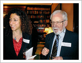 Prof. Patrick Glenn and Sandra Sahyouni, Associate Legal Officer