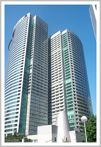 Two tall office towers
