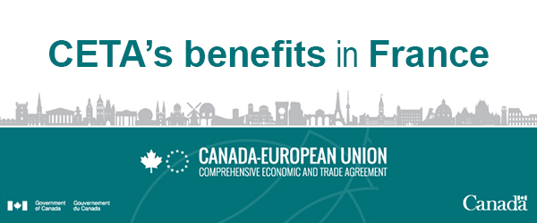 CETA's benefits in France