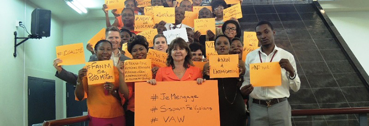 The Embassy of Canada in Haiti commemorates the International Day for the Elimination of Violence Against Women