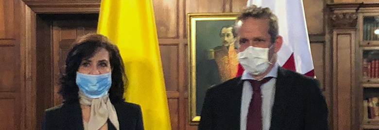 Canadá es reconocida por el Gobierno de Colombia por su apoyo para enfrentar el COVID-19