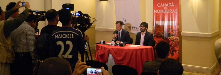 Canada supports journalists and freedom of expression in Ecuador and Honduras