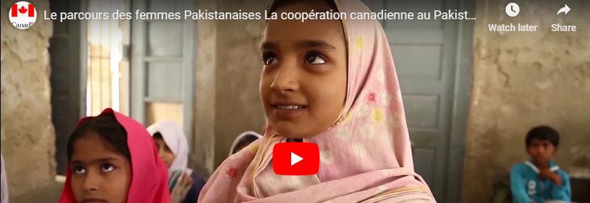 Le parcours des femmes Pakistanaises La coopération canadienne au Pakistan