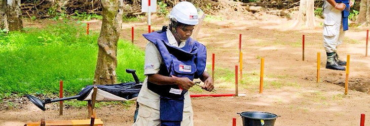 Deminers risk life for us to be safe