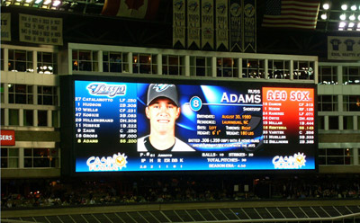 Daktronics created the scoreboard for the Rogers Centre inToronto (photo: Daktronics)