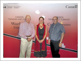 Reception hosted by Canada