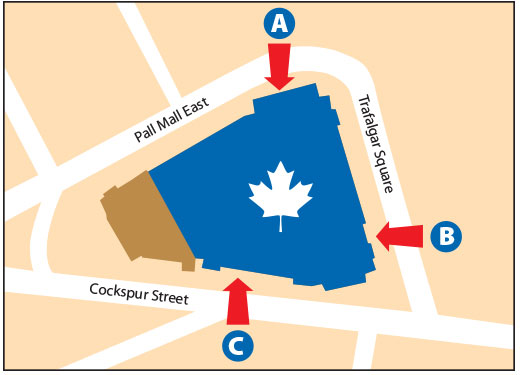 Map - Canada House