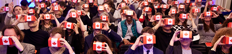 Virtual Reality at Canada House