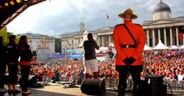 Canada Day in Trafalgar Square