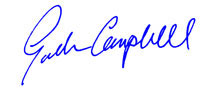 Signature - Gordon Campbell