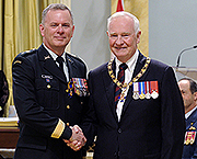 General Matthew Overton and the Governor General-in-Council